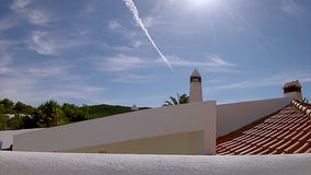 Portugal, Algarve famous destination region rural hillside landscape stock video