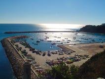 Portugal-Algarve Hafen Stockfotos