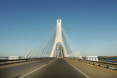 Portugal Spain Highway Bridge Stock Images