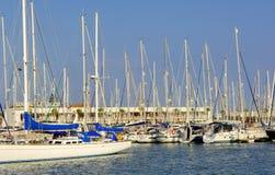 Portugal, Algarve, Lagos: Jachthafen stockfotos