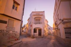 PORTUGAL ALGARVE LAGOS OLD TOWN Stock Photo