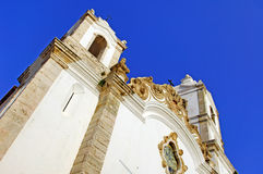 Portugal, Algarve, Lagos: St Anthony's Church Stock Photography