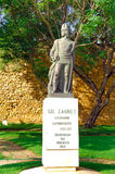Portugal, Algarve, Lagos: Statue of Gil Eannes Stock Photo