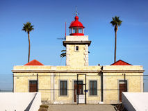 Portugal Algarve Lighthouse Lagos Stock Images