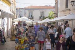 PORTUGAL ALGARVE LOULE OLD CITY MARKET Stock Images