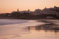 PORTUGAL ALGARVE LUZ BEACH Royalty Free Stock Photography