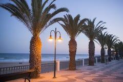 PORTUGAL ALGARVE LUZ BEACH Stock Photos