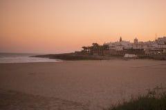 PORTUGAL ALGARVE LUZ BEACH Stock Photography
