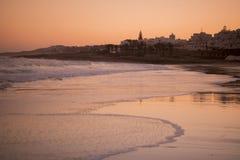 PORTUGAL ALGARVE LUZ BEACH Royalty Free Stock Photo