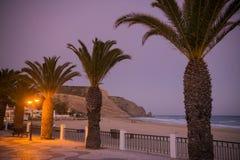 PORTUGAL ALGARVE LUZ BEACH Stock Image