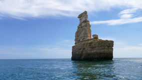 Portugal, Algarve rocky coast stock image