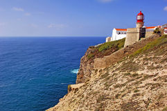 Portugal, Algarve, Sagres: Cabo de S Vincente Royalty Free Stock Photos