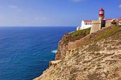 Portugal, Algarve, Sagres: Cabo DE S Vincente Royalty-vrije Stock Foto's