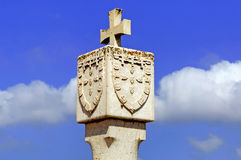 Portugal, Algarve, Sagres: nationale symbolen royalty-vrije stock fotografie
