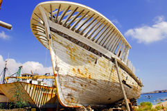 Portugal, Algarve, Sagres: Whaling bark Royalty Free Stock Images