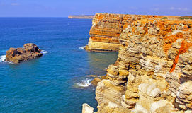 Portugal, Algarve, Sagres: Wonderful coastline Stock Photo