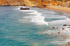 Portugal, Algarve, Sagres: Wonderful coastline Stock Image