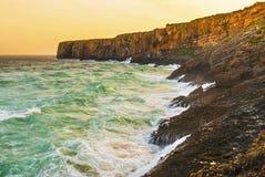Portugal, Algarve, Sagres: Wonderful coastline Stock Photos