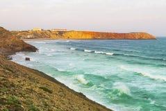 Portugal, Algarve, Sagres: Wonderful coastline Royalty Free Stock Photography