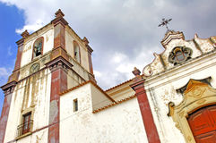 Portugal, Algarve, Silves: Church Stock Photos