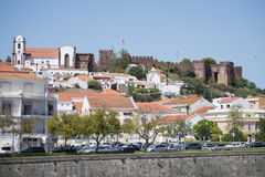 PORTUGAL ALGARVE SILVES OLD TOWN CASTELO Royalty Free Stock Photo