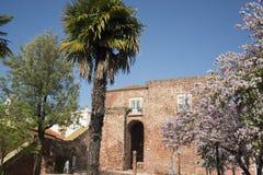 PORTUGAL ALGARVE SILVES OLD TOWN CASTELO Stock Photo