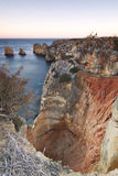Portugal: Algarve sinkhole Stock Photos