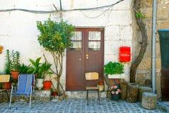 Portugal-altes Dorfhaus Stockfoto