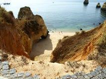portugal łamana niebezpieczna droga Zdjęcie Stock