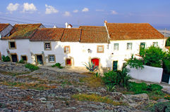 Portugal, area of Alentejo, Marvao: Typical house Royalty Free Stock Photos
