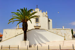 Portugal, area of Algarve, Albufeira: architecture royalty free stock images