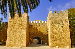 Portugal, area of Algarve, Lagos: Old Fortress royalty free stock image