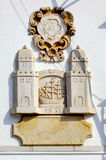 Portugal, area of Algarve, Tavira: City blazon. Dated from the middle of the 19th century Royalty Free Stock Photography