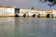 Portugal, area of Algarve, Tavira: City view royalty free stock photography