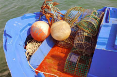 Portugal, area of Algarve, Tavira: fishing barks Royalty Free Stock Image