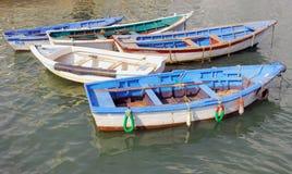 Portugal, area of Algarve, Tavira:fishing barks Royalty Free Stock Photography