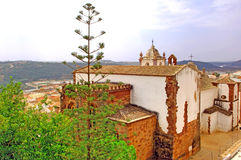 Portugal, Area Of Algarve, Silves: Architecture Stock Image