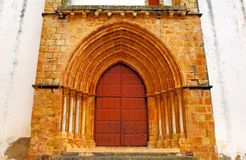 Portugal, Area Of Algarve, Silves: Church Royalty Free Stock Photo