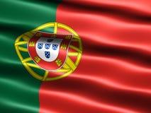 Portugal bandery Zdjęcia Stock