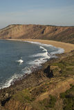 Portugal beach. Natural beach in cost of portugal Royalty Free Stock Photo