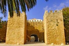 Portugal, Bereich von Algarve, Lagos: Alte Festung lizenzfreies stockbild