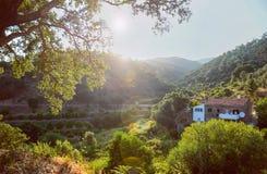 Portugal berg Arkivfoto