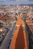 Portugal: Bird eye view of Porto Stock Photos