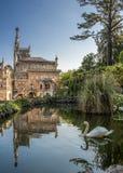 Portugal Buçaco Königliches Jagdschloß Stockbild