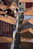 Portugal: Buildings of Porto Stock Photos