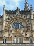 Portugal - Bussaco Palace façade Royalty Free Stock Photos