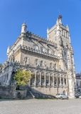 Portugal Bussaco . Royal hunting castle. stock photo