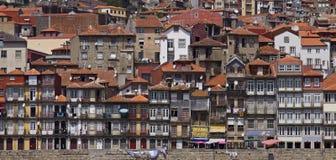 Portugal: Byggnader av Porto Arkivbild