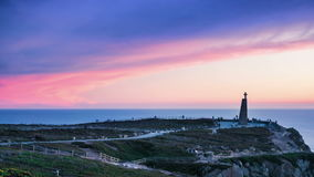 PORTUGAL Cabo DA Roca almacen de metraje de vídeo