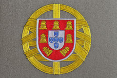 Portugal Coat of arms Stock Images